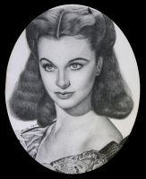 Vivien Leigh as Scarlett Ohara by noeling