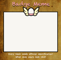 pmde badge meme blank by Appletail