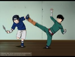 CollabwithGiulia92_Sasu vs Lee by Arya-Aiedail