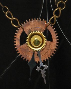 Cobbled Future necklace by Anthyslily