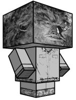 Cubee - The Wolfman by 7ater