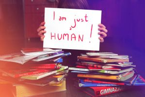 ' I'm just a human ' by mrs-cocconut