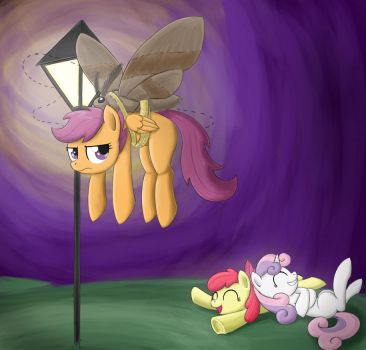 Scootaloo Flies! by otakuap