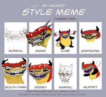 Style Meme by metalik-fairy