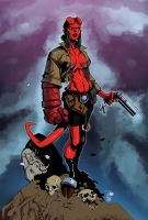 Hellgirl by Randy Green/Izaak Wilson - Colors by TrinityMathews