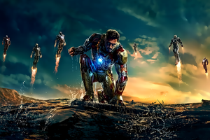 Iron man 3 by kingwicked