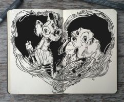 #147 Lady and the Tramp by Picolo-kun