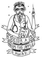 a doctor a day. by boobookittyfuck