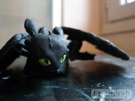 Toothless by Ft-ArtCraft