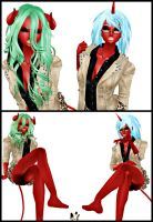 Scanty and Kneesocks Comic Entry by Dgholin