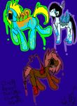 Creepypasta Themed Adopts batch 2 by XRadioactive-FrizzX
