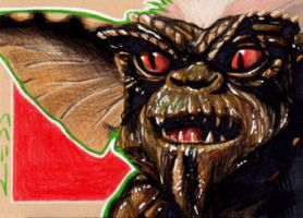 Stripe - Gremlins -Sketch Card by J-Redd