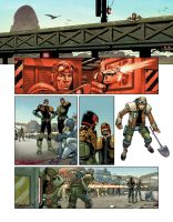Dredd Page 9 by DylanTeague
