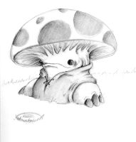 Mario Evolved: Toad by lmerlo72