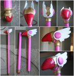 Cardcaptor Sakura Sealing Wand by RainOwls