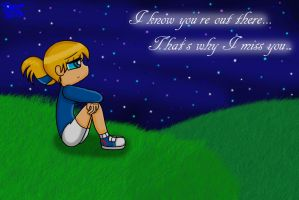 I Know You're Out There... by Sweatshirtmaster