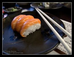 Sushi, the best meal. by SilverSliver17