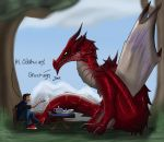 Dovah Tea Party by Odahviing