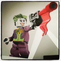 The Joker, kids room mural by Dantooine