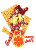 Orange Juice by MadziaVelMadzik