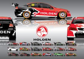 2009 VE V8Supercars by ArmageddonDesigns