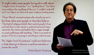 Walter Sinnott-Armstrong on sophisticated theology by rationalhub