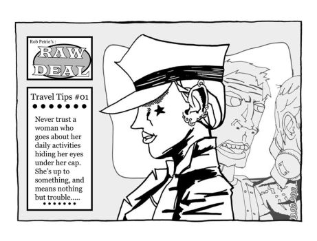 RobPetrie RawDeal Travel-Tips-No-01 by JunketPO