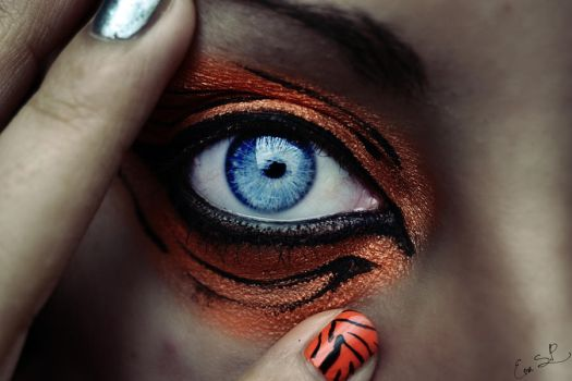 Eye of the tiger by Chuchy5