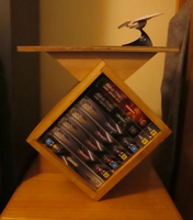 Star Trek Voyager Series Shelf thingy by neelix123