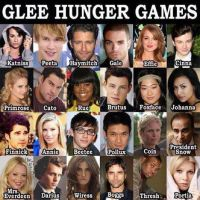 Glee Hunger Games by 516tigergirl
