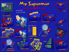My Superman Pack1 by Xav73
