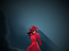Carmen Sandiego wallpaper by 5ir3ntropy