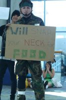 Please Do Not Feed the Snakes by snakedizzle