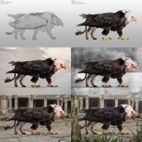 The Griffin Step-by-Step by SivarkArt