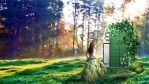 The Door in the Forest by ClaireSable