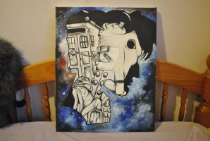Doctor Who- Matt Smith 2 (Paint) by MeWhoMoo