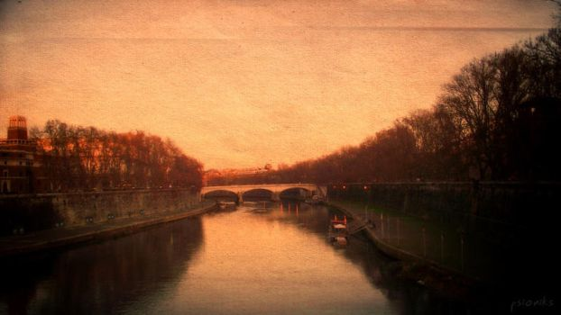 Tevere Canvas by psioniks