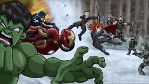 Avengers: Age of Ultron - Background and Profile by ghostly666
