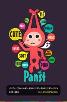 He is Panst-English by heiheirage