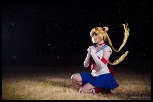 sailor moon -  cosplay - serena tsukino by sanchanclau
