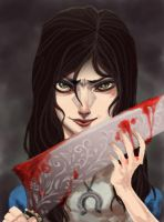 Alice: Madness Returns by vanduobones