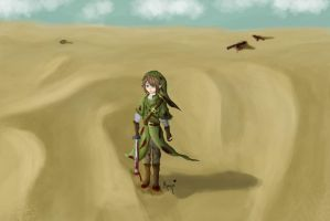 Link after a fight 2 by mayu3