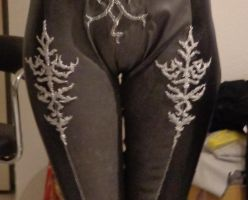 Bayonetta 2 WIP: Suit embroideries by Alleria-Cosplay