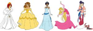 WITCHasDisneyPrincessesSeries by EdwardNBells