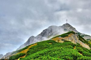 Mountain in the mist - Giewont by miirex