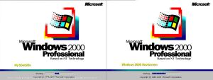 Windows 2000 Bootskin XP by mariomj71099