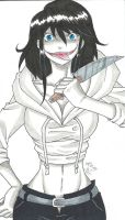 Jeff The Killer - Gender-bent. by MionOfDeath