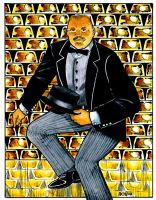 Oddjob in Fort Knox by Frohickey