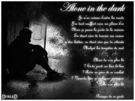 alone in the dark by DubleD