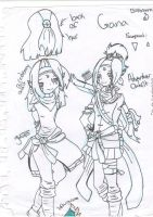 .:LOZ Skyward Sword OC Gana:. by alexpc901